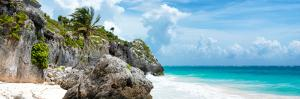 ?Viva Mexico! Panoramic Collection - Caribbean Coastline - Tulum VI by Philippe Hugonnard