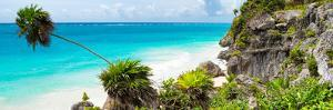 ?Viva Mexico! Panoramic Collection - Caribbean Coastline - Tulum by Philippe Hugonnard