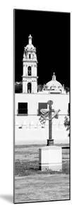¡Viva Mexico! Panoramic Collection - Courtyard of a Church in Puebla by Philippe Hugonnard