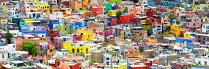¡Viva Mexico! Panoramic Collection - Guanajuato Colorful City XII by Philippe Hugonnard