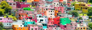 ¡Viva Mexico! Panoramic Collection - Guanajuato Colorful City XVI by Philippe Hugonnard