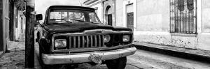 ¡Viva Mexico! Panoramic Collection - Old Jeep in San Cristobal de Las Casas I by Philippe Hugonnard
