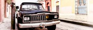 ¡Viva Mexico! Panoramic Collection - Old Jeep in San Cristobal de Las Casas II by Philippe Hugonnard