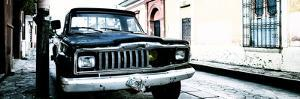 ¡Viva Mexico! Panoramic Collection - Old Jeep in San Cristobal de Las Casas IV by Philippe Hugonnard