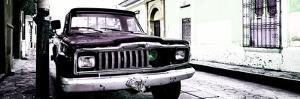¡Viva Mexico! Panoramic Collection - Old Jeep in San Cristobal de Las Casas V by Philippe Hugonnard