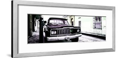 ¡Viva Mexico! Panoramic Collection - Old Jeep in San Cristobal de Las Casas V