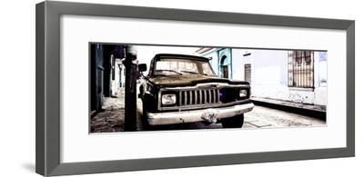 ¡Viva Mexico! Panoramic Collection - Old Jeep in San Cristobal de Las Casas VI
