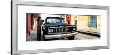 ¡Viva Mexico! Panoramic Collection - Old Jeep in San Cristobal de Las Casas