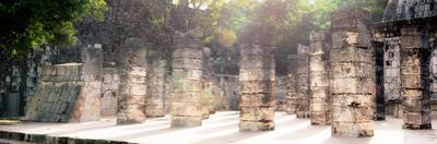 ¡Viva Mexico! Panoramic Collection - One Thousand Mayan Columns - Chichen Itza II by Philippe Hugonnard