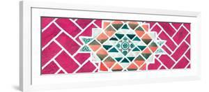 ?Viva Mexico! Panoramic Collection - Pink Mosaics by Philippe Hugonnard
