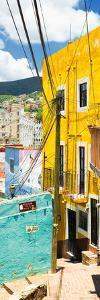 ¡Viva Mexico! Panoramic Collection - Street Scene Guanajuato II by Philippe Hugonnard