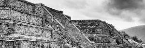 ?Viva Mexico! Panoramic Collection - Teotihuacan Pyramids IV by Philippe Hugonnard