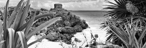 ¡Viva Mexico! Panoramic Collection - Tulum Ruins along Caribbean Coastline VI by Philippe Hugonnard