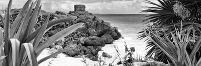 ¡Viva Mexico! Panoramic Collection - Tulum Ruins along Caribbean Coastline VI by Philippe Hugonnard