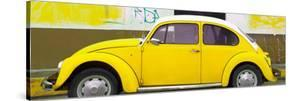 ?Viva Mexico! Panoramic Collection - Yellow VW Beetle by Philippe Hugonnard