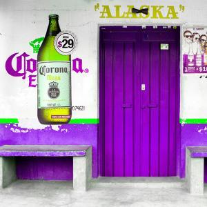"¡Viva Mexico! Square Collection - ""ALASKA"" Purple Bar by Philippe Hugonnard"