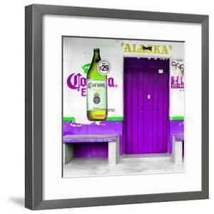 "¡Viva Mexico! Square Collection - ""ALASKA"" Purple Bar by Philippe Hugonnard"