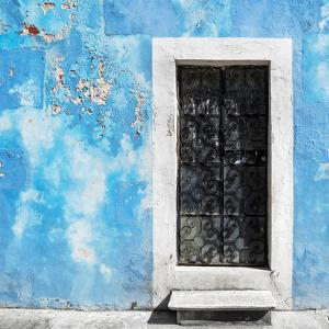 ¡Viva Mexico! Square Collection - Blue Wall of Silence by Philippe Hugonnard