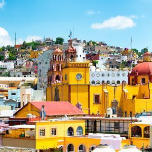 ¡Viva Mexico! Square Collection - Guanajuato Architecture VIII by Philippe Hugonnard