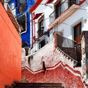 ¡Viva Mexico! Square Collection - Guanajuato Facades III by Philippe Hugonnard