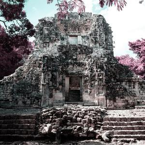 ¡Viva Mexico! Square Collection - Mayan Ruins of Campeche III by Philippe Hugonnard