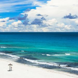 ¡Viva Mexico! Square Collection - Ocean and Beach View - Cancun by Philippe Hugonnard