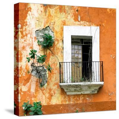 ¡Viva Mexico! Square Collection - Old Orange Facade