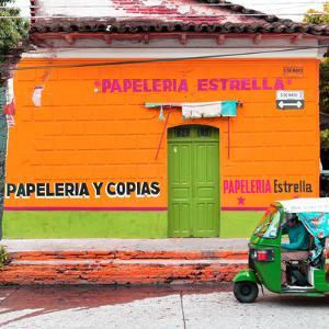 ¡Viva Mexico! Square Collection - Orange Papeleria by Philippe Hugonnard
