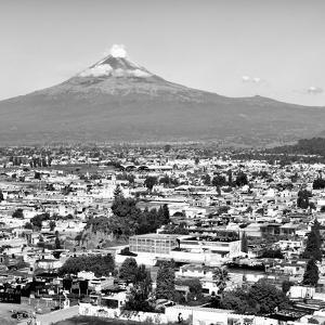 ¡Viva Mexico! Square Collection - Popocatepetl Volcano in Puebla I by Philippe Hugonnard