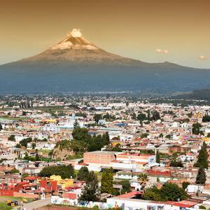 ¡Viva Mexico! Square Collection - Popocatepetl Volcano in Puebla II by Philippe Hugonnard
