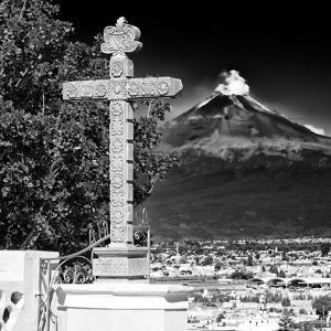 ¡Viva Mexico! Square Collection - Popocatepetl Volcano in Puebla IX by Philippe Hugonnard