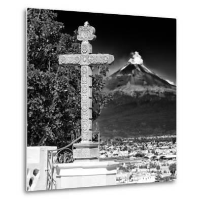 ¡Viva Mexico! Square Collection - Popocatepetl Volcano in Puebla IX