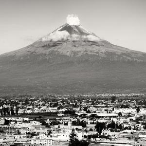 ¡Viva Mexico! Square Collection - Popocatepetl Volcano in Puebla V by Philippe Hugonnard
