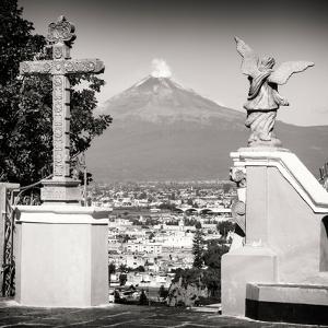 ¡Viva Mexico! Square Collection - Popocatepetl Volcano in Puebla VII by Philippe Hugonnard