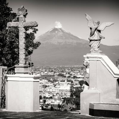 ¡Viva Mexico! Square Collection - Popocatepetl Volcano in Puebla VII