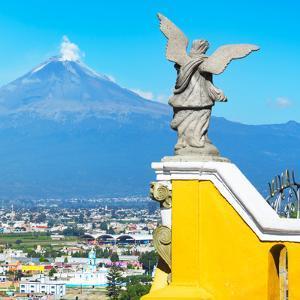 ¡Viva Mexico! Square Collection - Popocatepetl Volcano in Puebla X by Philippe Hugonnard