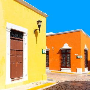 ¡Viva Mexico! Square Collection - Street of the Sun II by Philippe Hugonnard