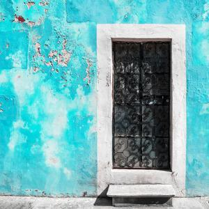 ¡Viva Mexico! Square Collection - Turquoise Wall of Silence by Philippe Hugonnard