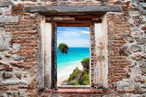 ¡Viva Mexico! Window View - Caribbean Coastline by Philippe Hugonnard