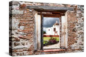 ¡Viva Mexico! Window View - Mexican Church by Philippe Hugonnard