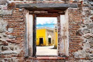 ?Viva Mexico! Window View - The Yellow City in Izamal by Philippe Hugonnard