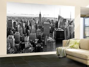Wall Mural - Manhattan Skyline with the Empire State Building - New York by Philippe Hugonnard