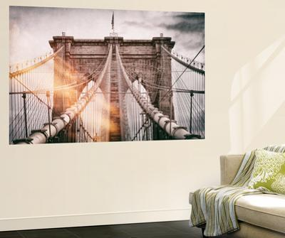 Wall Mural - The Brooklyn Bridge - Manhattan - New York - USA by Philippe Hugonnard