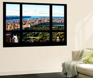 Wall Mural - Window View - Central Park - Manhattan - New York by Philippe Hugonnard