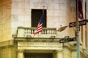 Wall Street - New York stock exchange - Manhattan - NYC - United States by Philippe Hugonnard