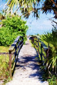 Way to the Beach - In the Style of Oil Painting by Philippe Hugonnard