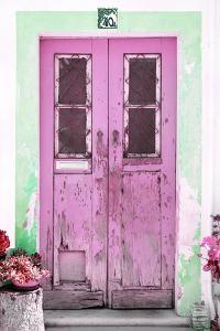 Welcome to Portugal Collection - Old Pink Door by Philippe Hugonnard