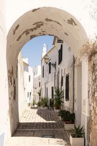 Welcome to Portugal Collection - Old Village Street in Faro I by Philippe Hugonnard