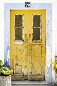 Welcome to Portugal Collection - Old Yellow Door by Philippe Hugonnard