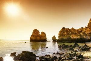 Welcome to Portugal Collection - Praia do Camilo at Sunset by Philippe Hugonnard
